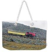 Cog Railway On Top Of Mt Washington Weekender Tote Bag