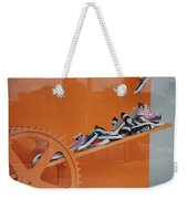Cogs N Converse Weekender Tote Bag