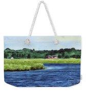 Cohansey River Weekender Tote Bag
