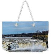 Cohoes Falls New York Weekender Tote Bag