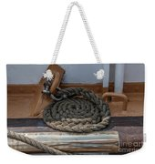 Coiled Rope Weekender Tote Bag