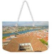 Coimbra Aerial View Weekender Tote Bag