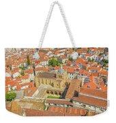 Coimbra Cathedral Aerial Weekender Tote Bag