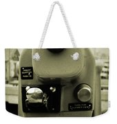 Coin Operated Telescope Weekender Tote Bag