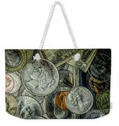 Coins And Bills Weekender Tote Bag
