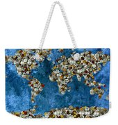 Coins World Map Weekender Tote Bag