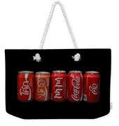 Coke Cans Weekender Tote Bag