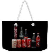 Coke From Around The World Weekender Tote Bag