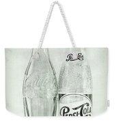 Coke Or Pepsi Black And White Weekender Tote Bag