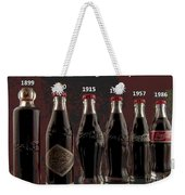 Coke Through Time Weekender Tote Bag