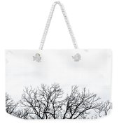 Cold Days Weekender Tote Bag