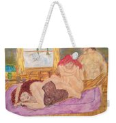 Cold  Disappointing Night  Weekender Tote Bag