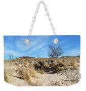 Cold Dune Day Weekender Tote Bag
