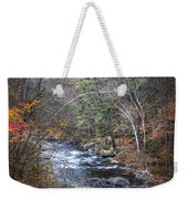 Cold Mountain Stream Weekender Tote Bag