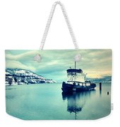 Cold Reflections Weekender Tote Bag