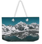 Cold Skies Weekender Tote Bag