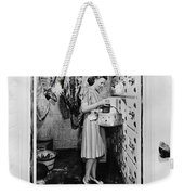 Cold Storage Room, C1940 Weekender Tote Bag