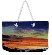 Cold Sunrise Weekender Tote Bag