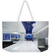 Cold Tree In A Field Of Blue Interior Design Weekender Tote Bag