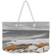 Cold Water Weekender Tote Bag