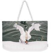 Cold Water Weekender Tote Bag