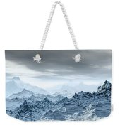 Cold Weather Environment Weekender Tote Bag
