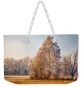 Cold Winter Evening In The Valley Weekender Tote Bag