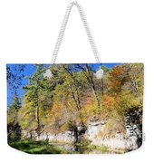 Coldwater Trout Stream Weekender Tote Bag