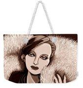 Colette In Sepia Tone Weekender Tote Bag