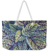 Coleus Leaves Weekender Tote Bag