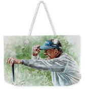 Colin Montgomery Watercolor Weekender Tote Bag