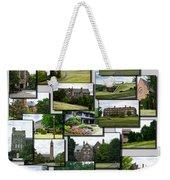 Collage Cornell University Ithaca New York Vertical 02 Weekender Tote Bag