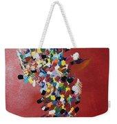Collage Of Color Weekender Tote Bag