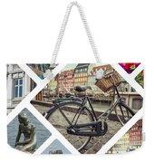 Collage Of Copenhagen  Weekender Tote Bag