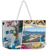 Collage Of Crete  Weekender Tote Bag