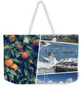 Collage Of Cyprus Images Weekender Tote Bag
