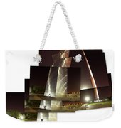 Collage Of Gateway Arch At Night Weekender Tote Bag