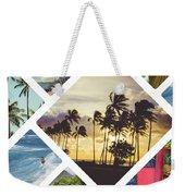 Collage Of Hawaii  Weekender Tote Bag