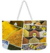 Collage Of Istanbul Weekender Tote Bag