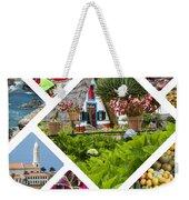 Collage Of Madeira  Weekender Tote Bag