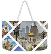 Collage Of Moscow Weekender Tote Bag