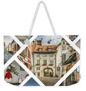 Collage Of Riga Weekender Tote Bag