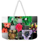 Collage Of Spring Flowers Weekender Tote Bag