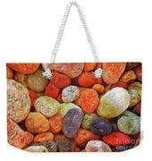 Collecting Pebbles Weekender Tote Bag