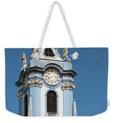 Collegiate Church Blue Tower Weekender Tote Bag
