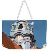 Collegiate Church Tower Weekender Tote Bag