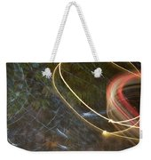 Colliding Worlds  Weekender Tote Bag by Michael Lucarelli