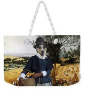 Collie Smooth - Smooth Collie Art Canvas Print - The Harvesters Weekender Tote Bag