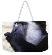 Colobus Monkey Weekender Tote Bag