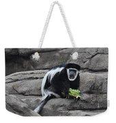 Colobus Monkey Weekender Tote Bag